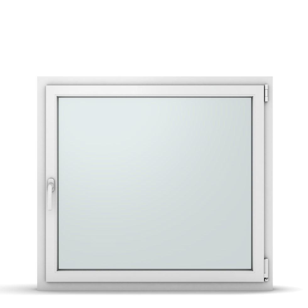 Wohnraumfenster 1-flg. Allegro Max Weiß 1100x1000 mm DIN Dreh-Kipp Rechts-37271