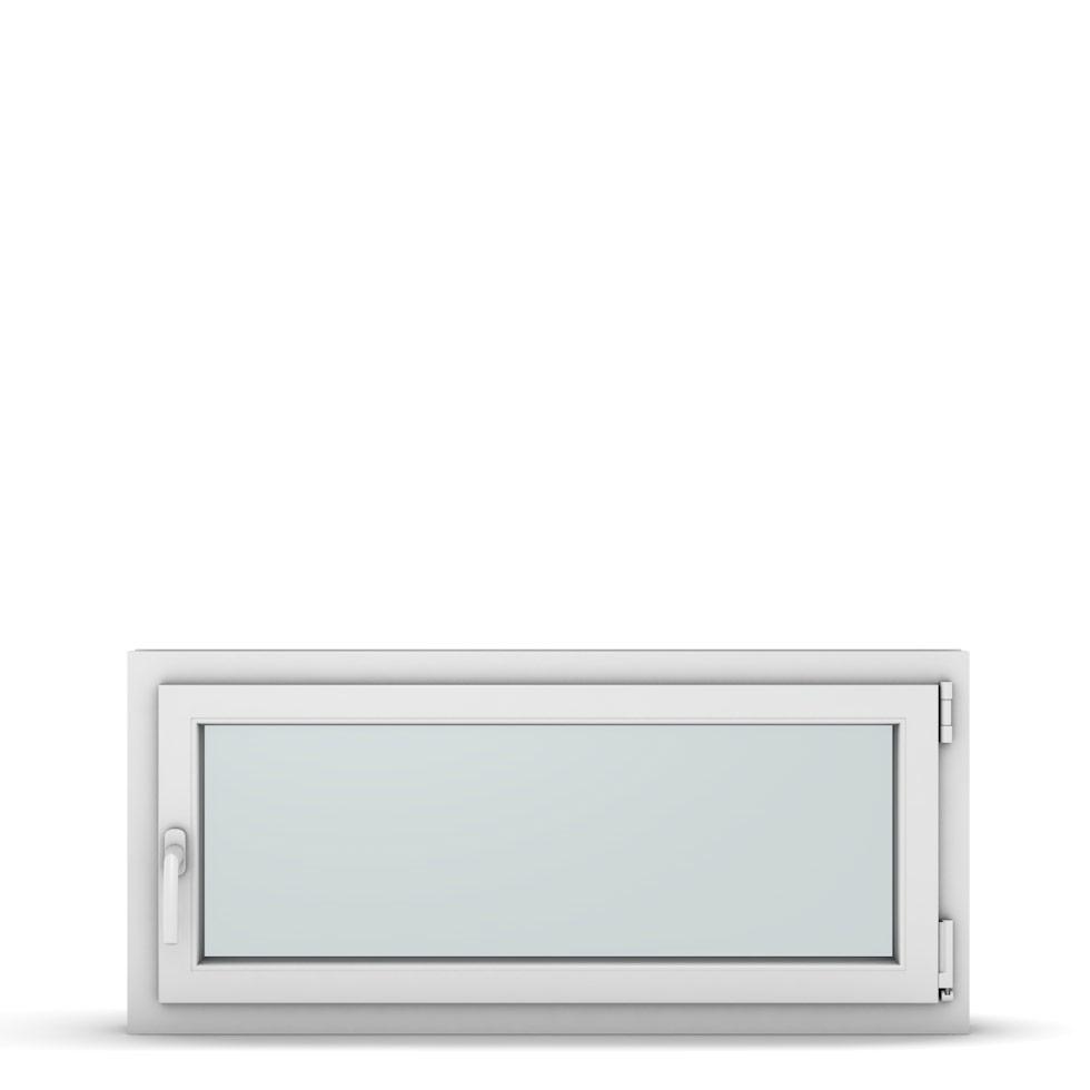 Wohnraumfenster 1-flg. Allegro Max Weiß 1100x500 mm DIN Dreh-Kipp Rechts-37261