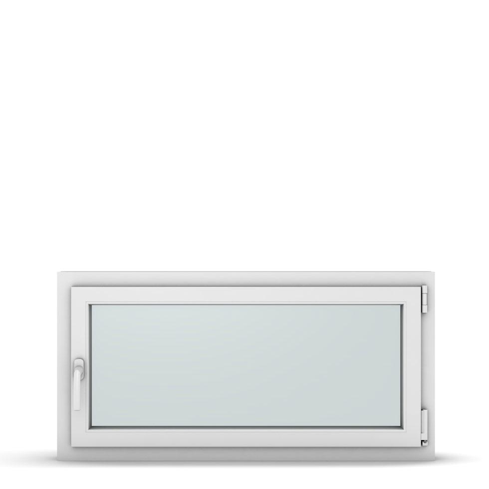 Wohnraumfenster 1-flg. Allegro Max Weiß 1100x550 mm DIN Dreh-Kipp Rechts-37262