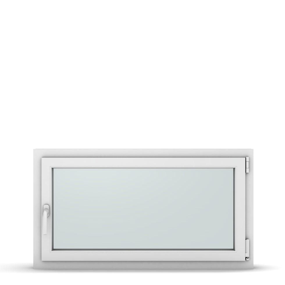 Wohnraumfenster 1-flg. Allegro Max Weiß 1100x600 mm DIN Dreh-Kipp Rechts-37263