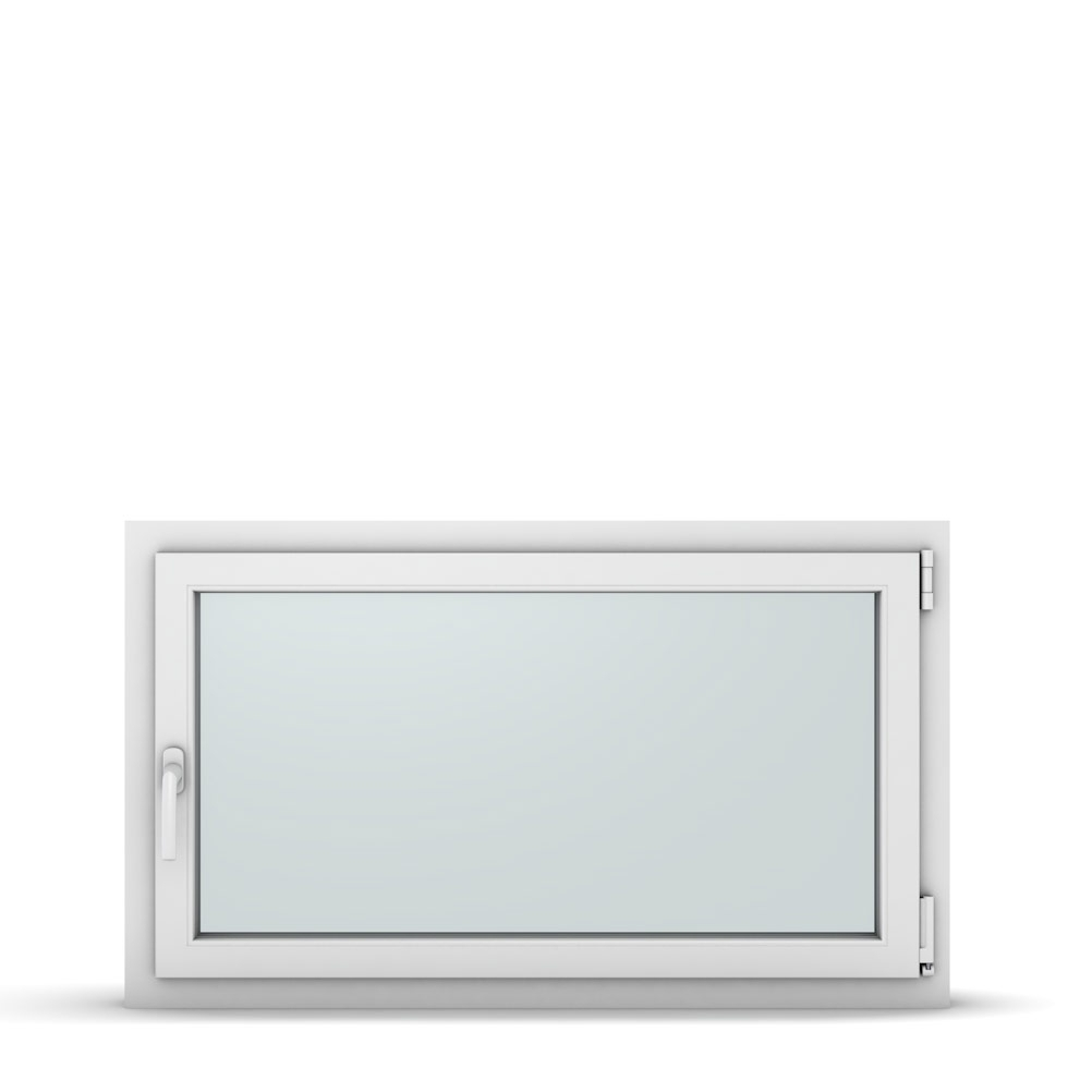 Wohnraumfenster 1-flg. Allegro Max Weiß 1100x650 mm DIN Dreh-Kipp Rechts-37264