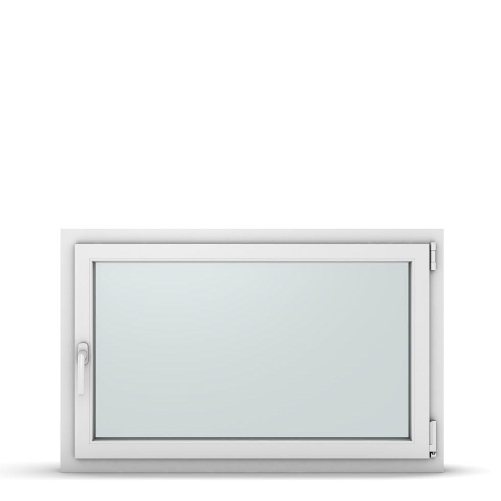 Wohnraumfenster 1-flg. Allegro Max Weiß 1100x700 mm DIN Dreh-Kipp Rechts-37265