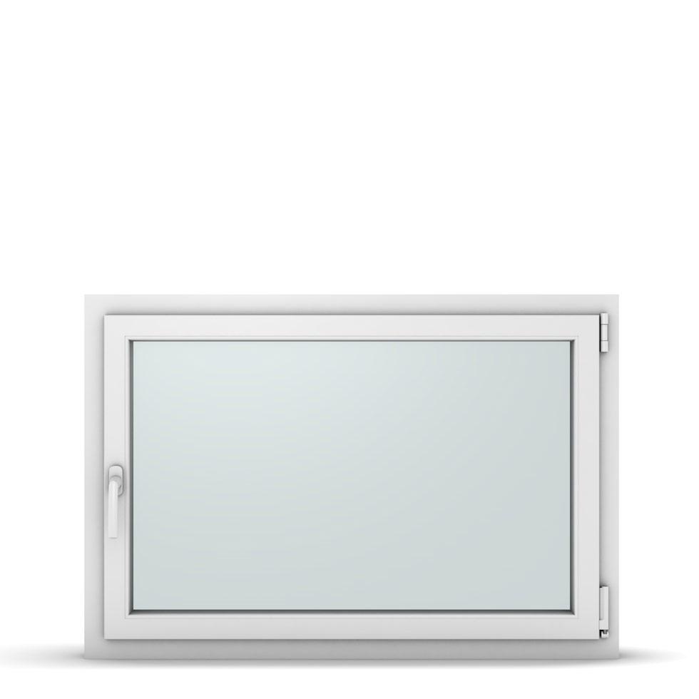 Wohnraumfenster 1-flg. Allegro Max Weiß 1100x750 mm DIN Dreh-Kipp Rechts-37266