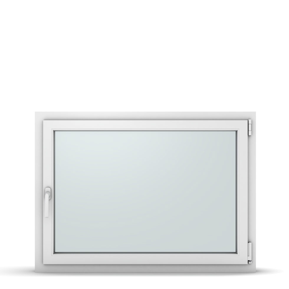 Wohnraumfenster 1-flg. Allegro Max Weiß 1100x800 mm DIN Dreh-Kipp Rechts-37267
