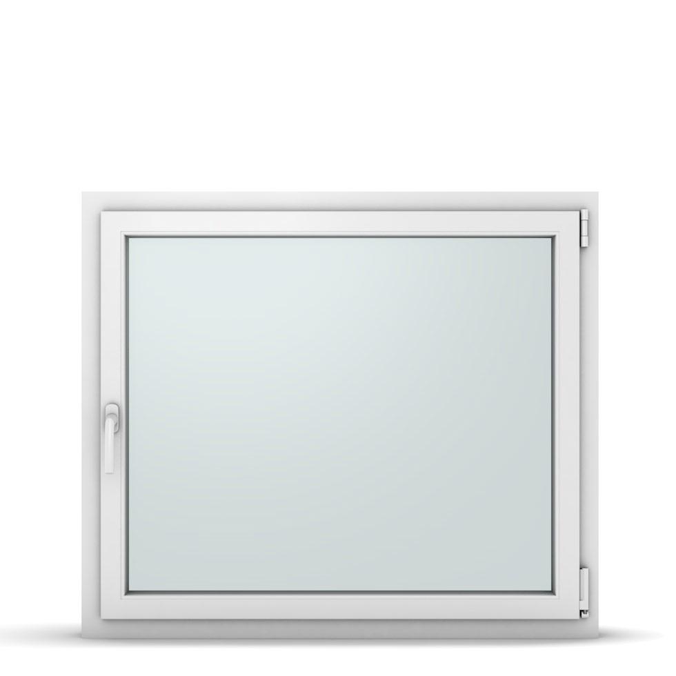 Wohnraumfenster 1-flg. Allegro Max Weiß 1100x950 mm DIN Dreh-Kipp Rechts-37270