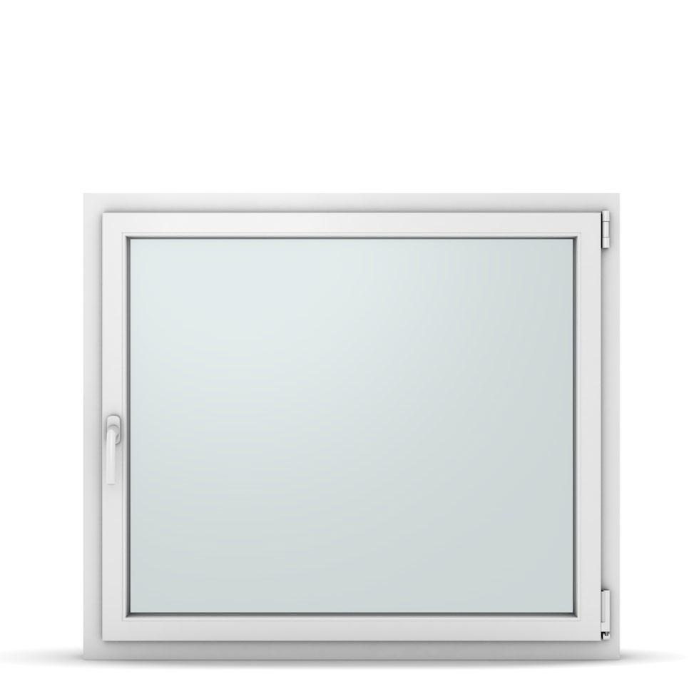 Wohnraumfenster 1-flg. Allegro Max Weiß 1150x1000 mm DIN Dreh-Kipp Rechts-37296