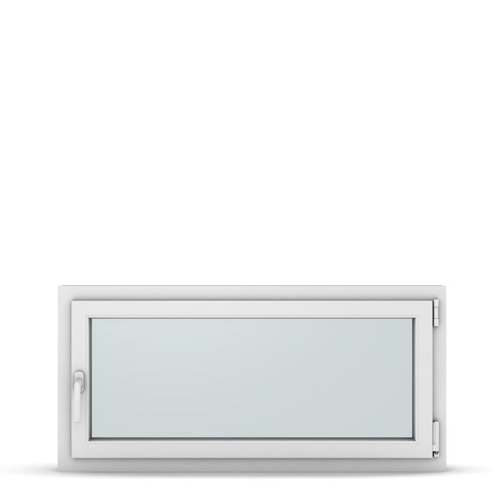 Wohnraumfenster 1-flg. Allegro Max Weiß 1150x550 mm DIN Dreh-Kipp Rechts-37287