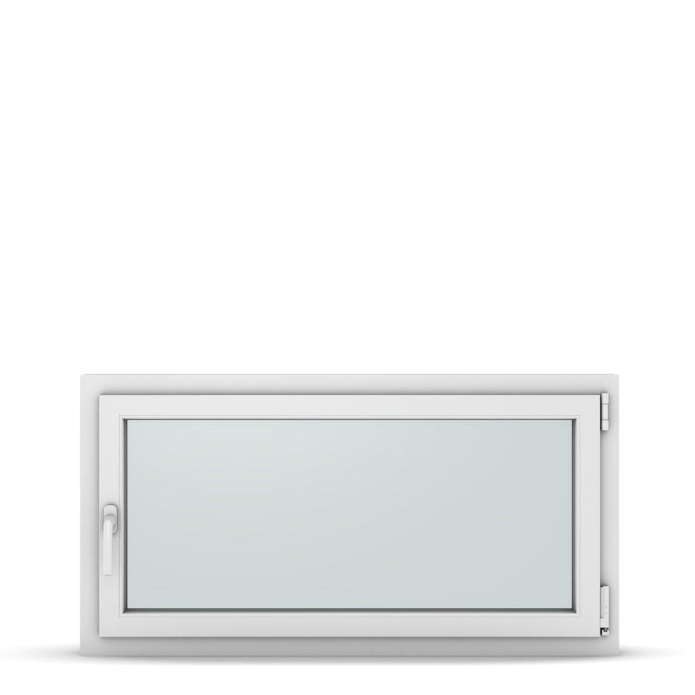 Wohnraumfenster 1-flg. Allegro Max Weiß 1150x600 mm DIN Dreh-Kipp Rechts-37288