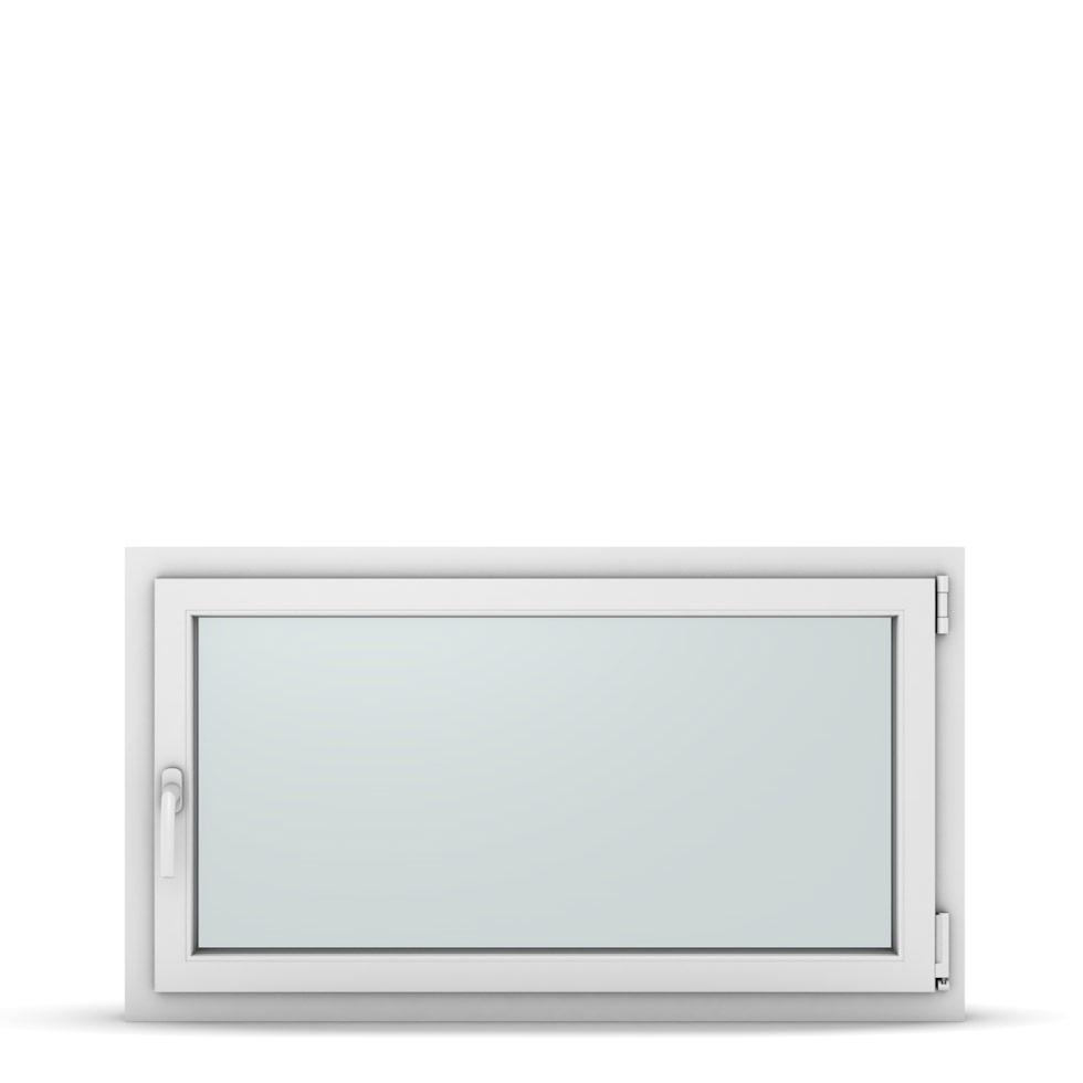 Wohnraumfenster 1-flg. Allegro Max Weiß 1150x650 mm DIN Dreh-Kipp Rechts-37289