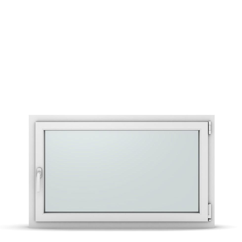 Wohnraumfenster 1-flg. Allegro Max Weiß 1150x700 mm DIN Dreh-Kipp Rechts-37290