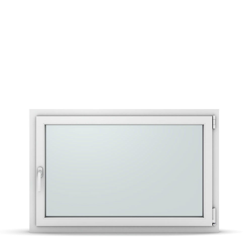 Wohnraumfenster 1-flg. Allegro Max Weiß 1150x750 mm DIN Dreh-Kipp Rechts-37291