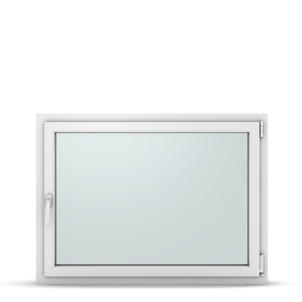 Wohnraumfenster 1-flg. Allegro Max Weiß 1150x850 mm DIN Dreh-Kipp Rechts-37293