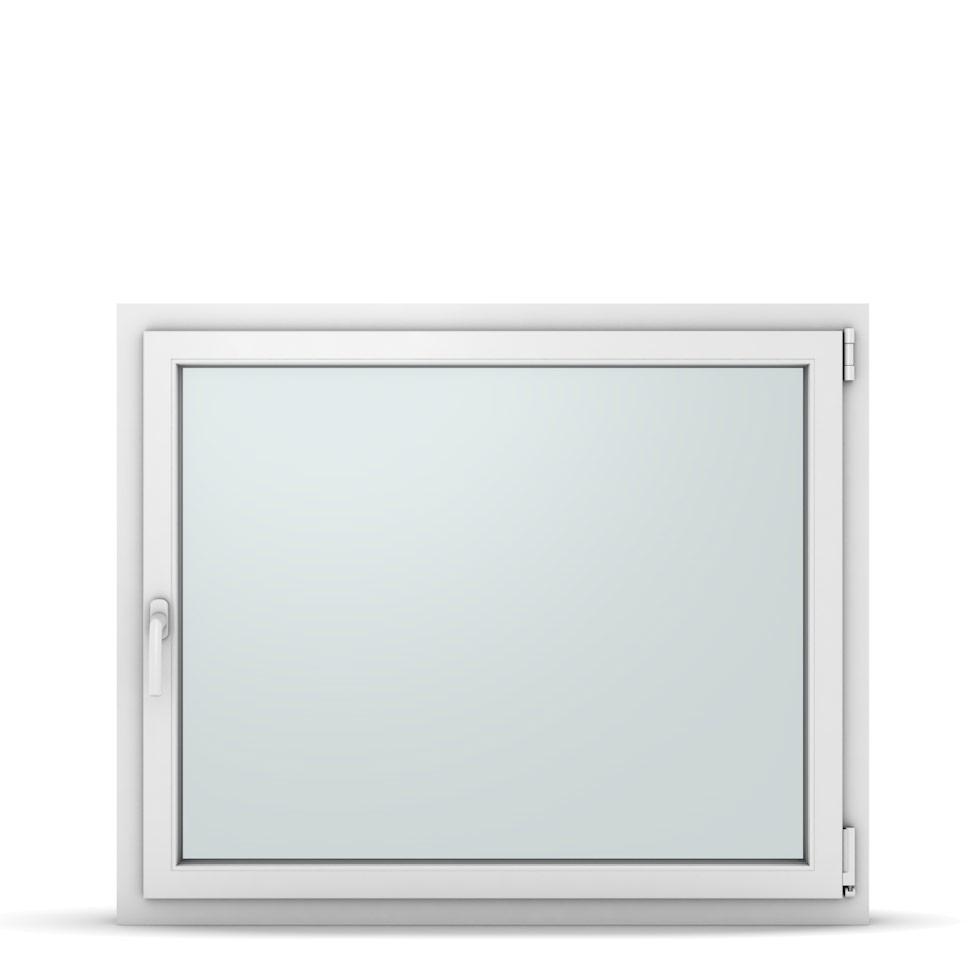 Wohnraumfenster 1-flg. Allegro Max Weiß 1150x950 mm DIN Dreh-Kipp Rechts-37295