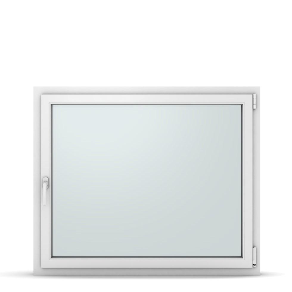 Wohnraumfenster 1-flg. Allegro Max Weiß 1200x1000 mm DIN Dreh-Kipp Rechts-37321
