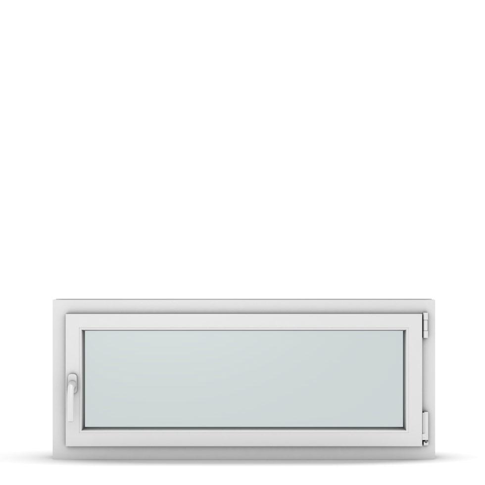 Wohnraumfenster 1-flg. Allegro Max Weiß 1200x500 mm DIN Dreh-Kipp Rechts-37311