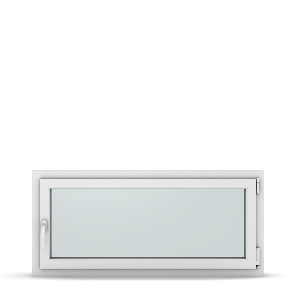 Wohnraumfenster 1-flg. Allegro Max Weiß 1200x550 mm DIN Dreh-Kipp Rechts-37312