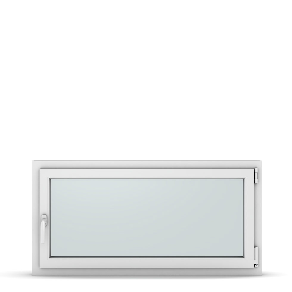 Wohnraumfenster 1-flg. Allegro Max Weiß 1200x600 mm DIN Dreh-Kipp Rechts-37313