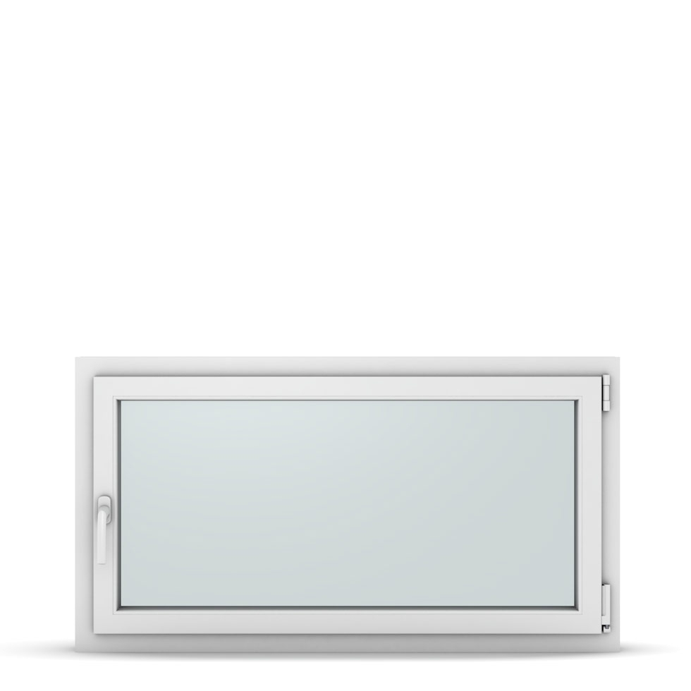 Wohnraumfenster 1-flg. Allegro Max Weiß 1200x650 mm DIN Dreh-Kipp Rechts-37314