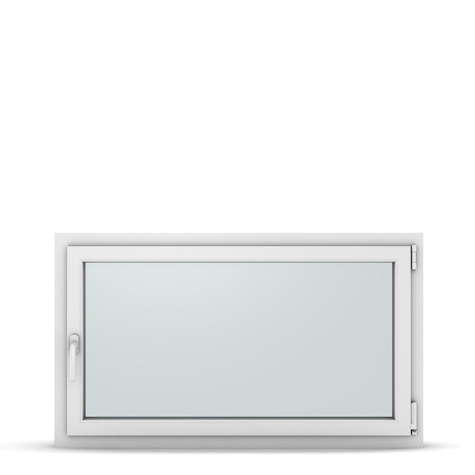 Wohnraumfenster 1-flg. Allegro Max Weiß 1200x700 mm DIN Dreh-Kipp Rechts-37315