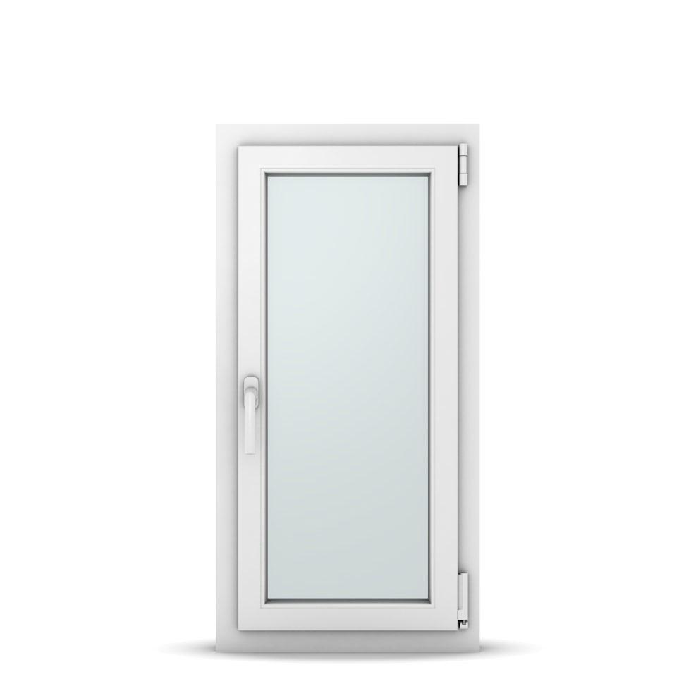 Wohnraumfenster 1-flg. Allegro Max Weiß 500x1000 mm DIN Dreh-Kipp Rechts-36972