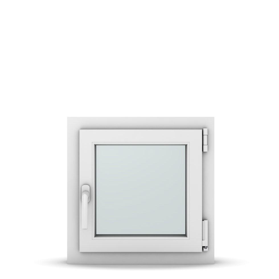 Wohnraumfenster 1-flg. Allegro Max Weiß 500x500 mm DIN Dreh-Kipp Rechts-36962