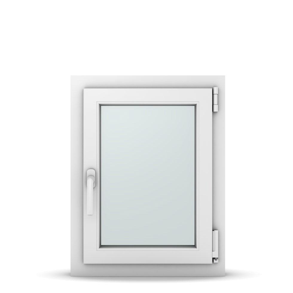 Wohnraumfenster 1-flg. Allegro Max Weiß 500x650 mm DIN Dreh-Kipp Rechts-36965