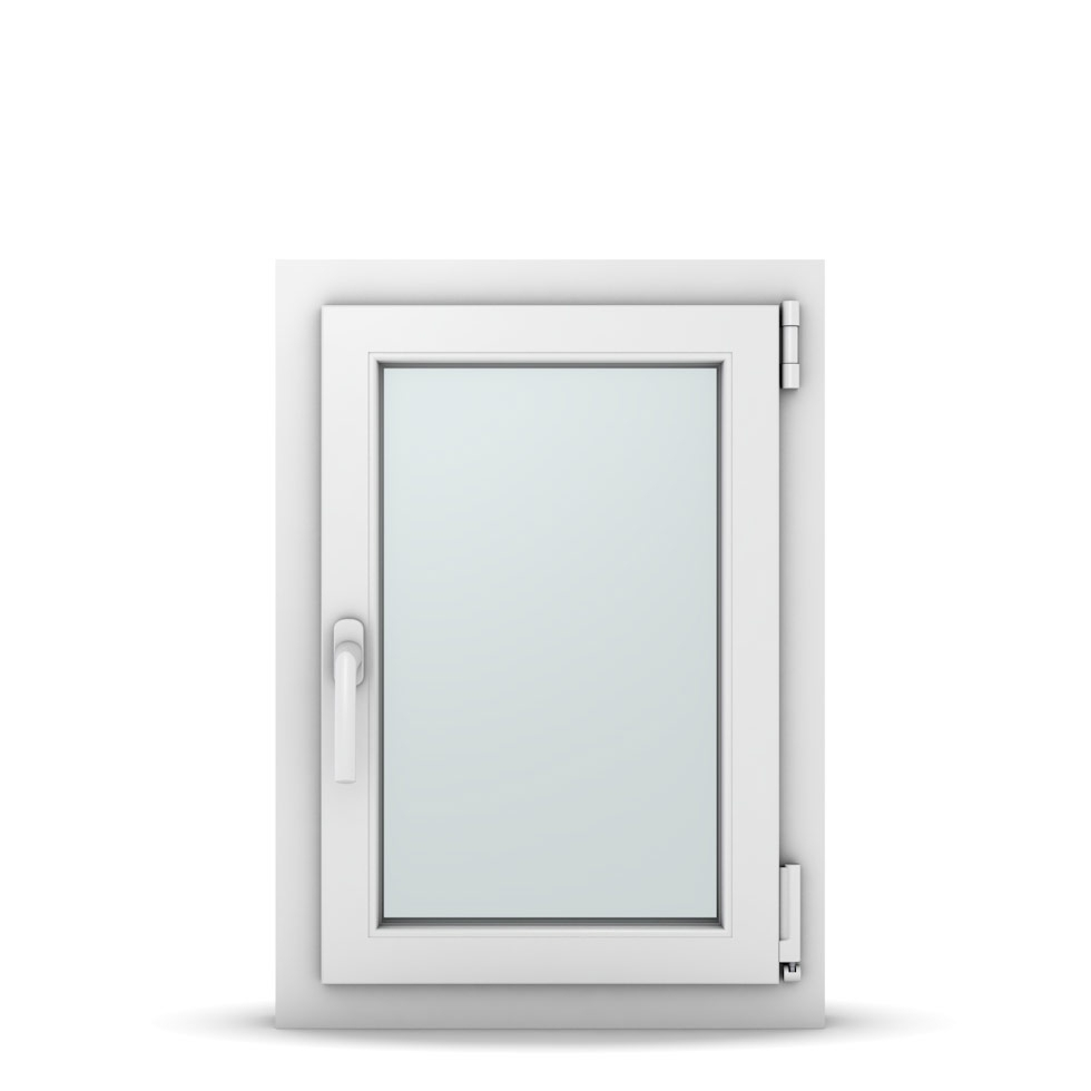 Wohnraumfenster 1-flg. Allegro Max Weiß 500x700 mm DIN Dreh-Kipp Rechts-36966