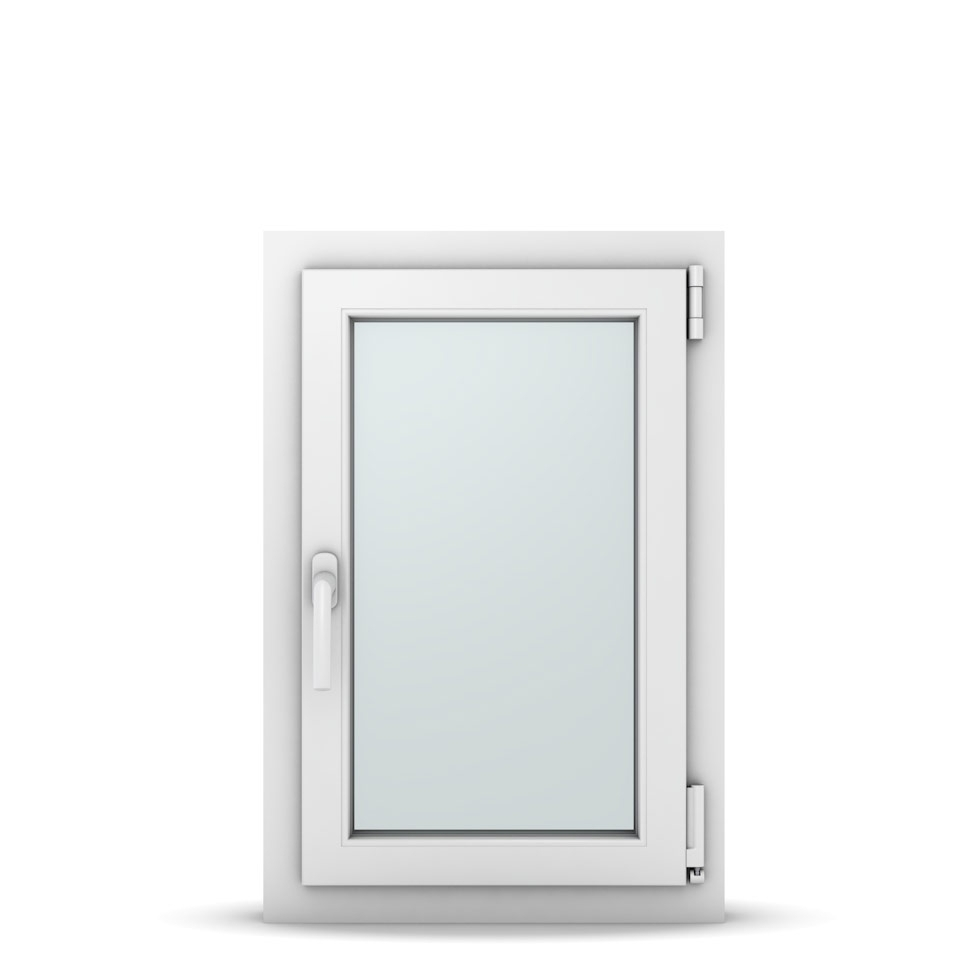 Wohnraumfenster 1-flg. Allegro Max Weiß 500x750 mm DIN Dreh-Kipp Rechts-36967