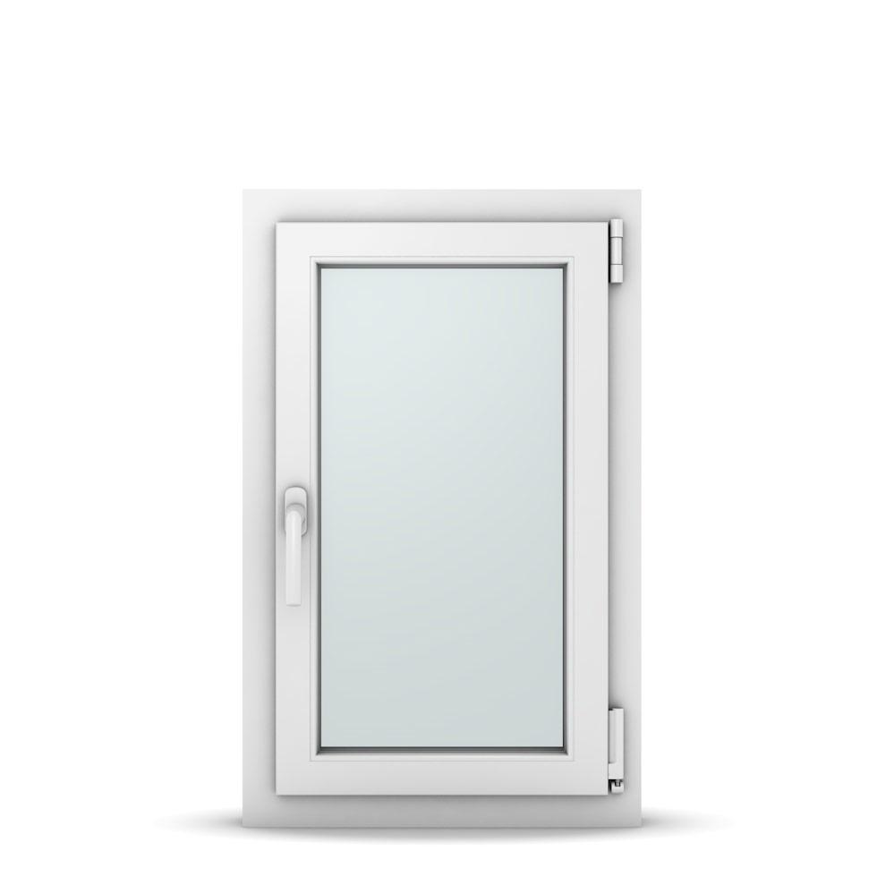 Wohnraumfenster 1-flg. Allegro Max Weiß 500x800 mm DIN Dreh-Kipp Rechts-36968