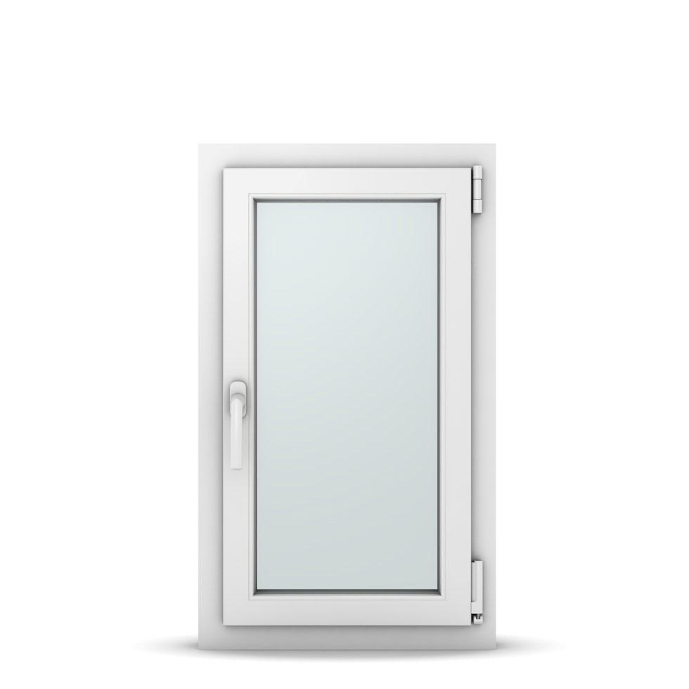 Wohnraumfenster 1-flg. Allegro Max Weiß 500x850 mm DIN Dreh-Kipp Rechts-36969