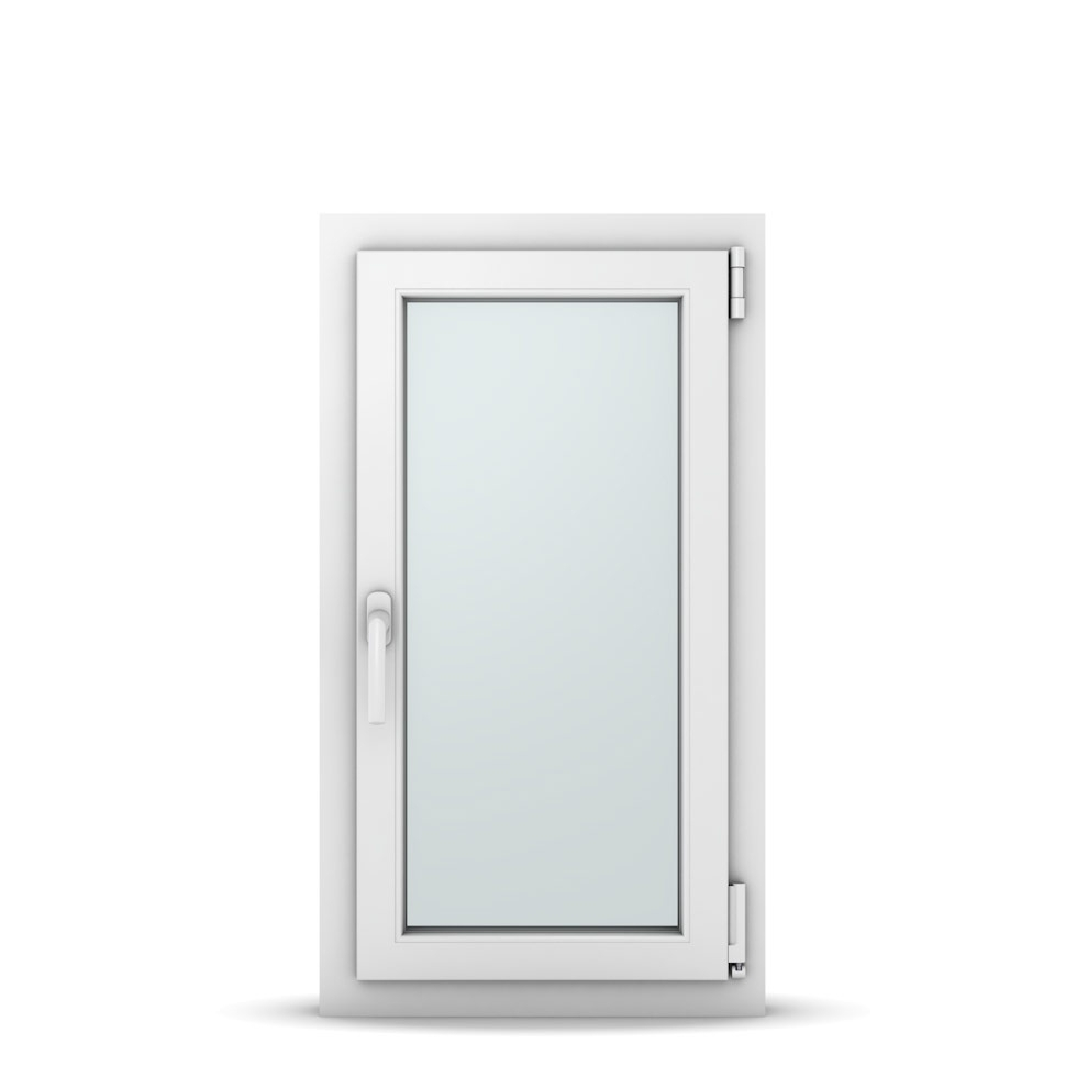 Wohnraumfenster 1-flg. Allegro Max Weiß 500x900 mm DIN Dreh-Kipp Rechts-36970