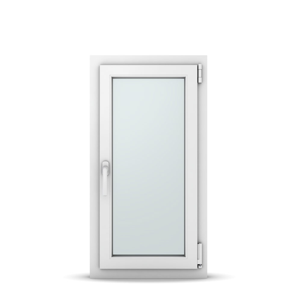 Wohnraumfenster 1-flg. Allegro Max Weiß 500x950 mm DIN Dreh-Kipp Rechts-36971