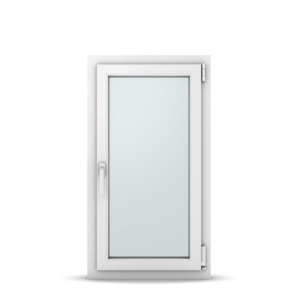 Wohnraumfenster 1-flg. Allegro Max Weiß 550x1000 mm DIN Dreh-Kipp Rechts-36997