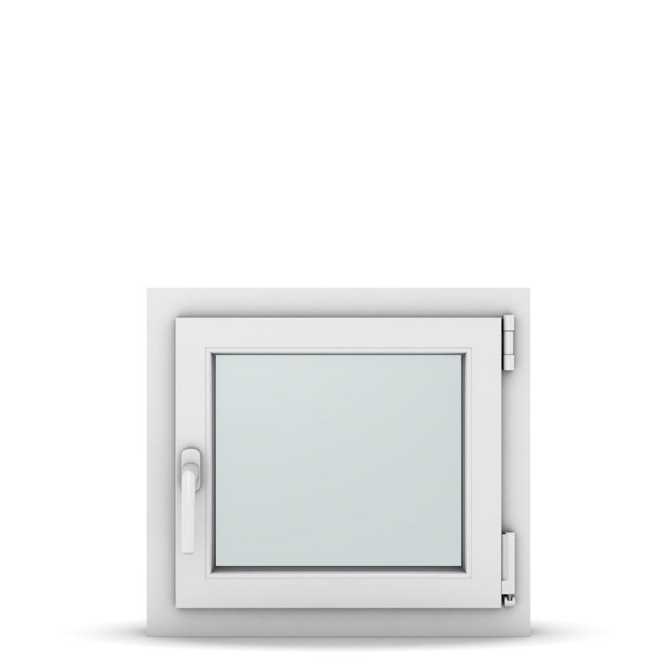 Wohnraumfenster 1-flg. Allegro Max Weiß 550x500 mm DIN Dreh-Kipp Rechts-36987