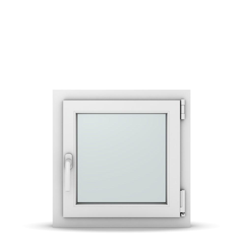 Wohnraumfenster 1-flg. Allegro Max Weiß 550x550 mm DIN Dreh-Kipp Rechts