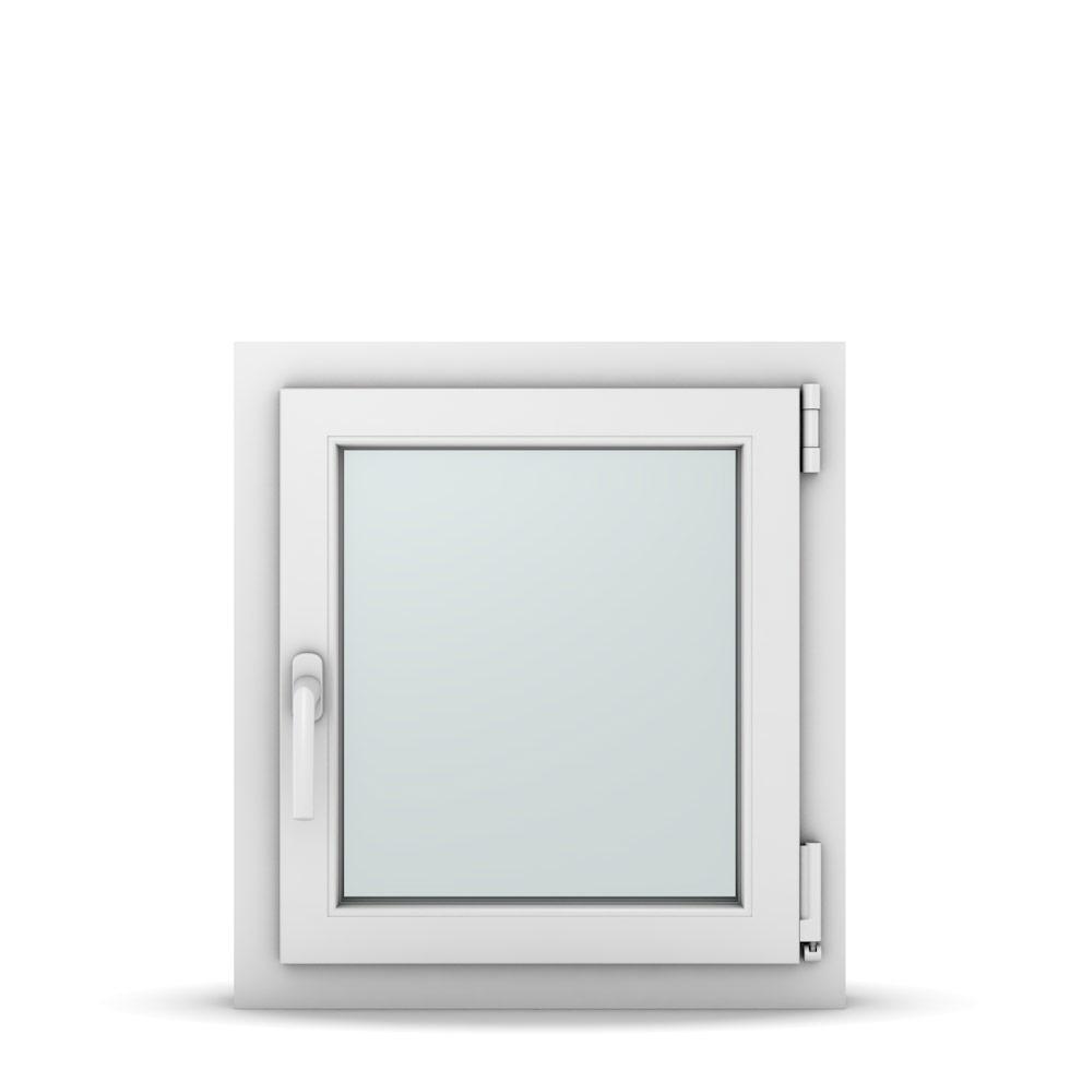 Wohnraumfenster 1-flg. Allegro Max Weiß 550x600 mm DIN Dreh-Kipp Rechts-36989