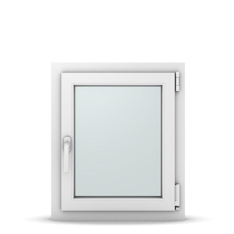 Wohnraumfenster 1-flg. Allegro Max Weiß 550x650 mm DIN Dreh-Kipp Rechts-36990