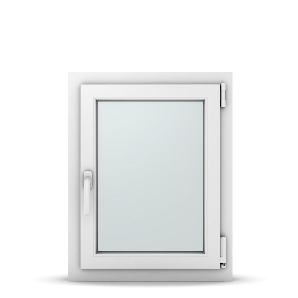 Wohnraumfenster 1-flg. Allegro Max Weiß 550x700 mm DIN Dreh-Kipp Rechts-36991