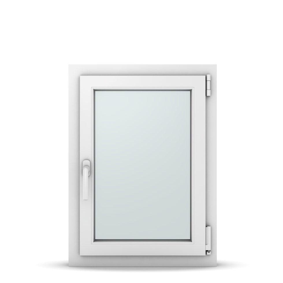 Wohnraumfenster 1-flg. Allegro Max Weiß 550x750 mm DIN Dreh-Kipp Rechts-36992