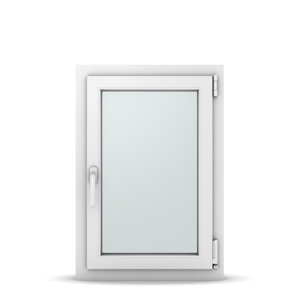 Wohnraumfenster 1-flg. Allegro Max Weiß 550x800 mm DIN Dreh-Kipp Rechts-36993