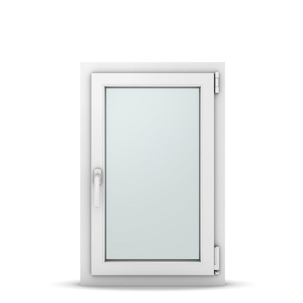 Wohnraumfenster 1-flg. Allegro Max Weiß 550x850 mm DIN Dreh-Kipp Rechts-36994