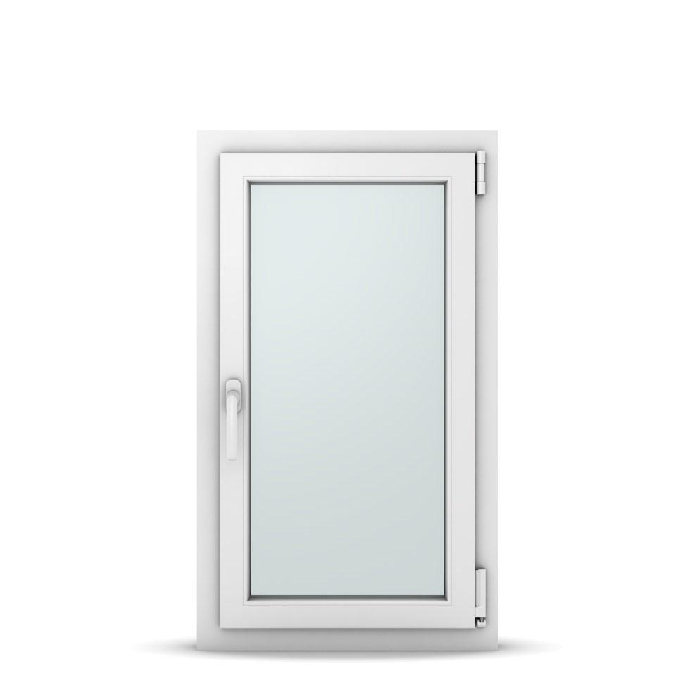 Wohnraumfenster 1-flg. Allegro Max Weiß 550x950 mm DIN Dreh-Kipp Rechts-36996