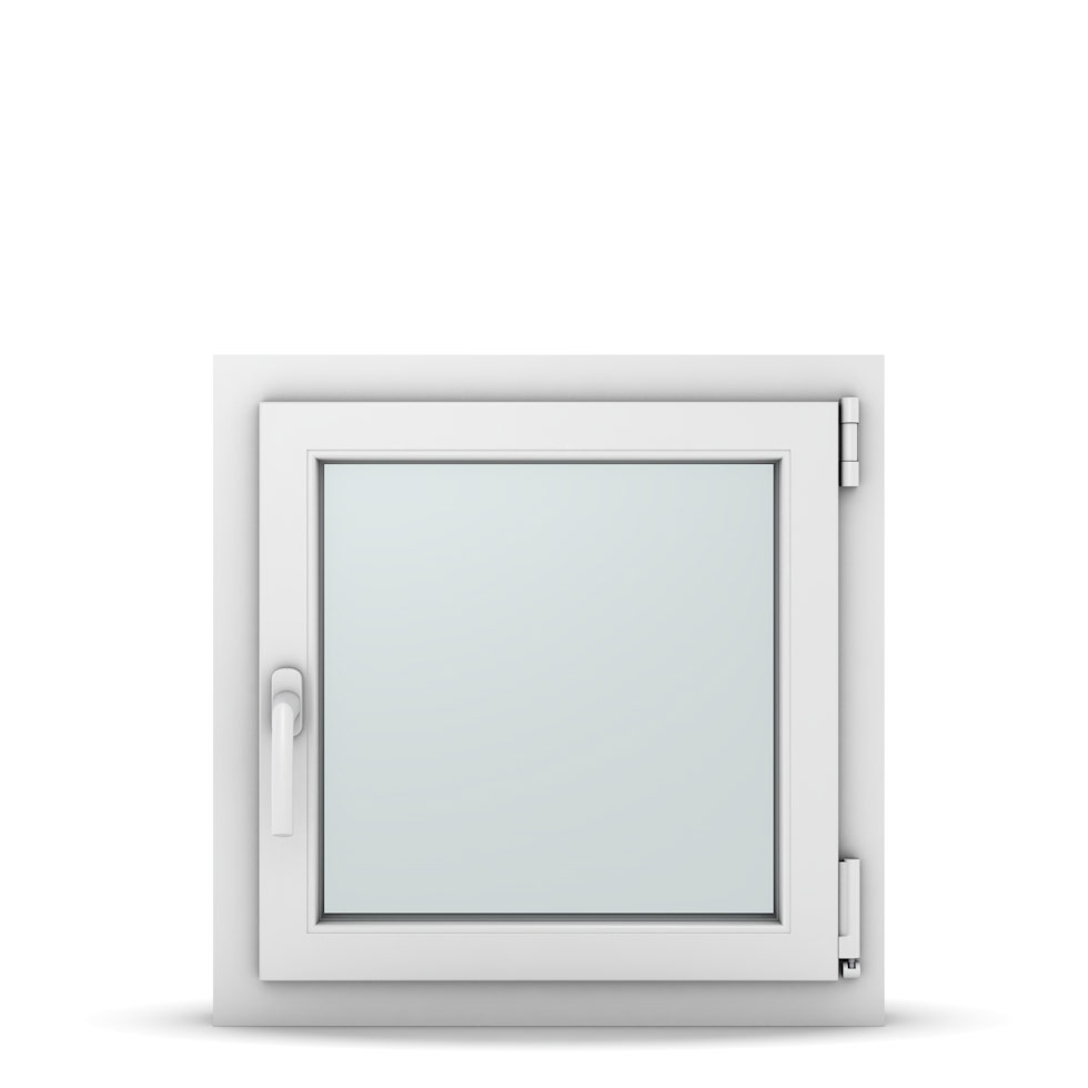 Wohnraumfenster 1-flg. Allegro Max Weiß 600x600 mm DIN Dreh-Kipp Rechts-37014