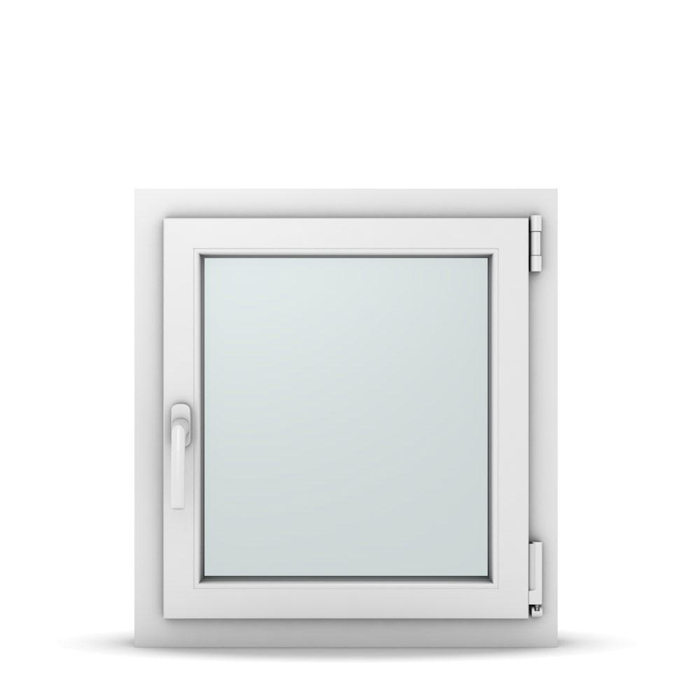 Wohnraumfenster 1-flg. Allegro Max Weiß 600x650 mm DIN Dreh-Kipp Rechts-37015