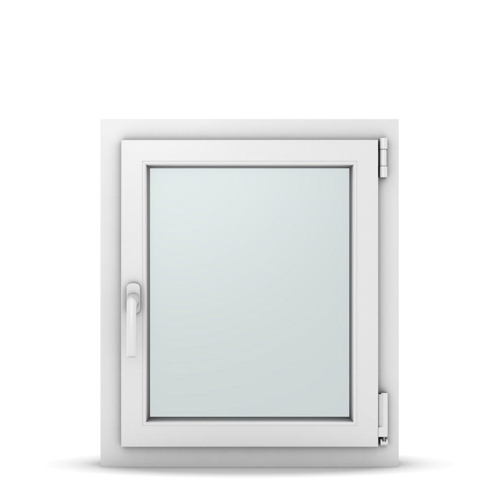 Wohnraumfenster 1-flg. Allegro Max Weiß 600x700 mm DIN Dreh-Kipp Rechts-37016