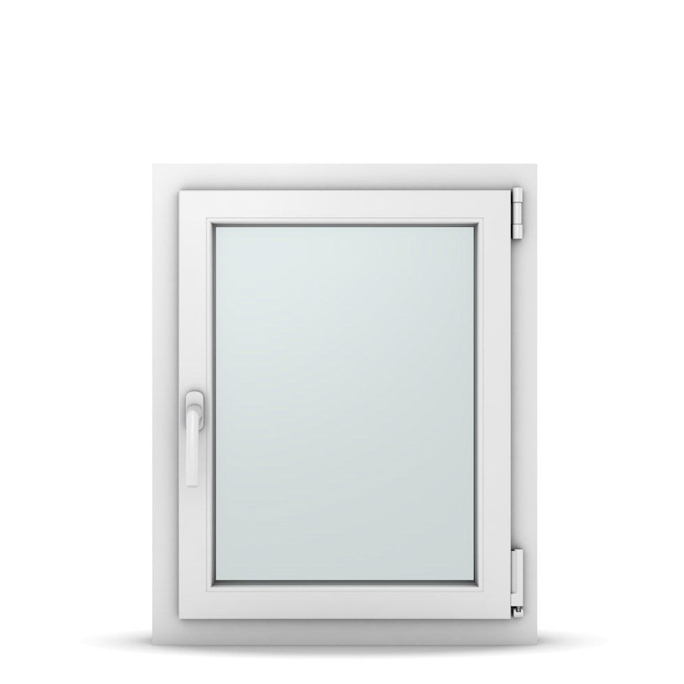 Wohnraumfenster 1-flg. Allegro Max Weiß 600x750 mm DIN Dreh-Kipp Rechts-37017