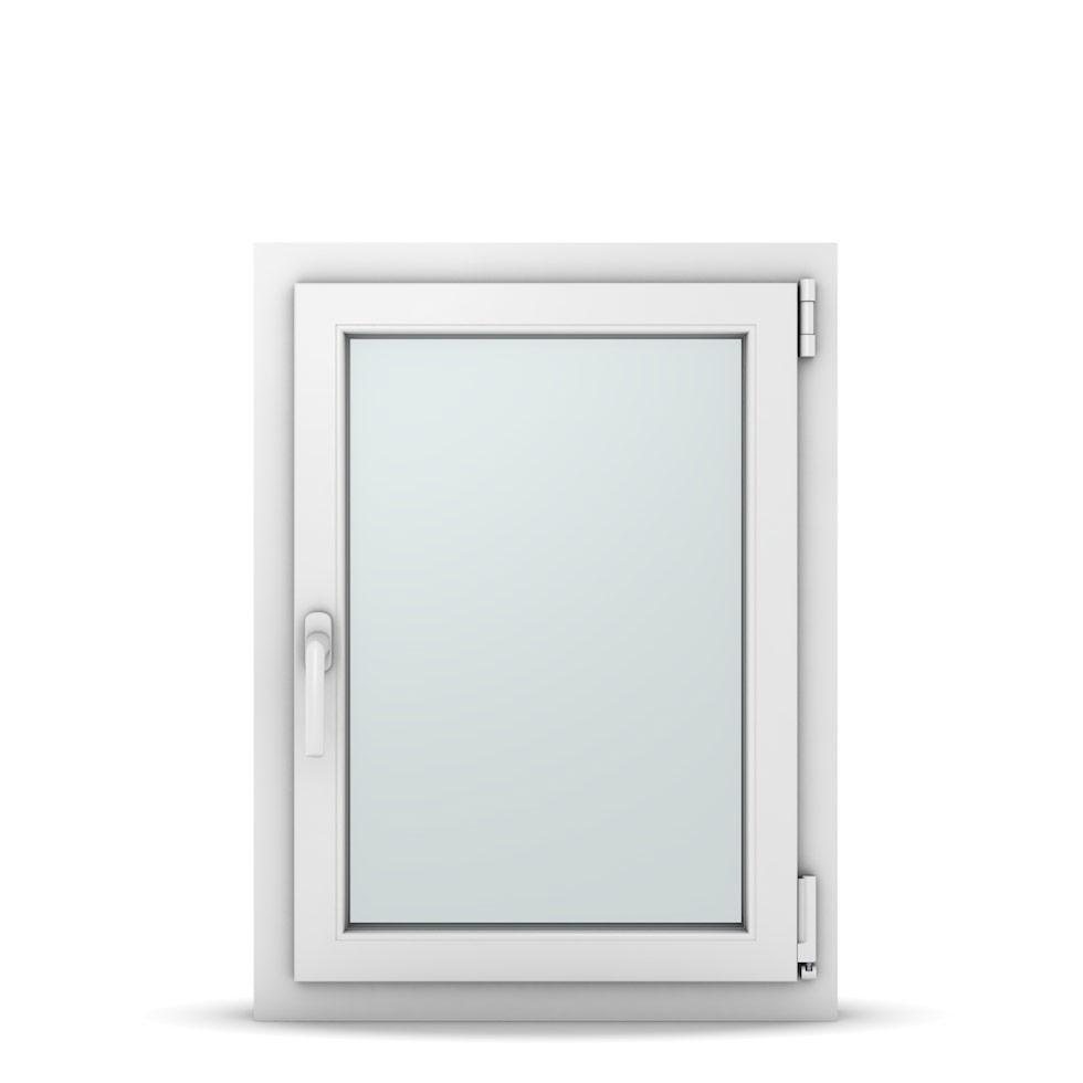 Wohnraumfenster 1-flg. Allegro Max Weiß 600x800 mm DIN Dreh-Kipp Rechts-37018