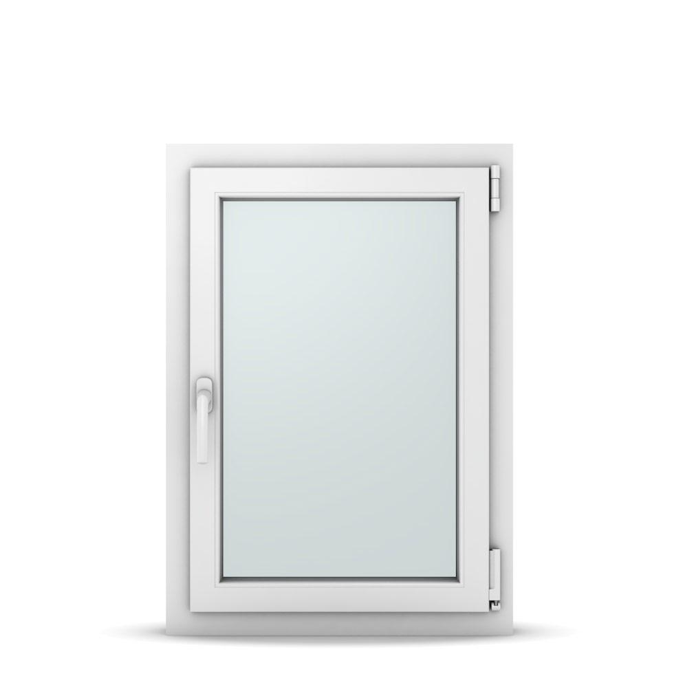 Wohnraumfenster 1-flg. Allegro Max Weiß 600x850 mm DIN Dreh-Kipp Rechts-37019