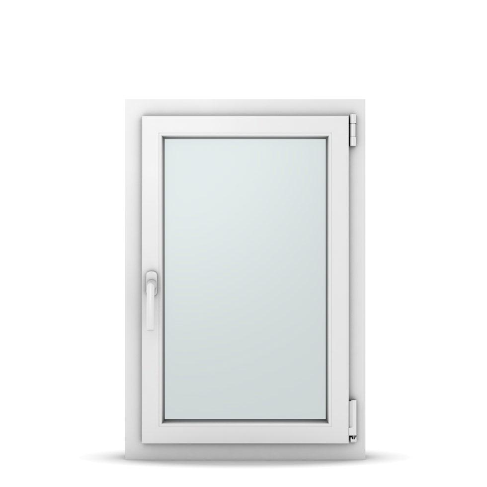 Wohnraumfenster 1-flg. Allegro Max Weiß 600x900 mm DIN Dreh-Kipp Rechts-37020