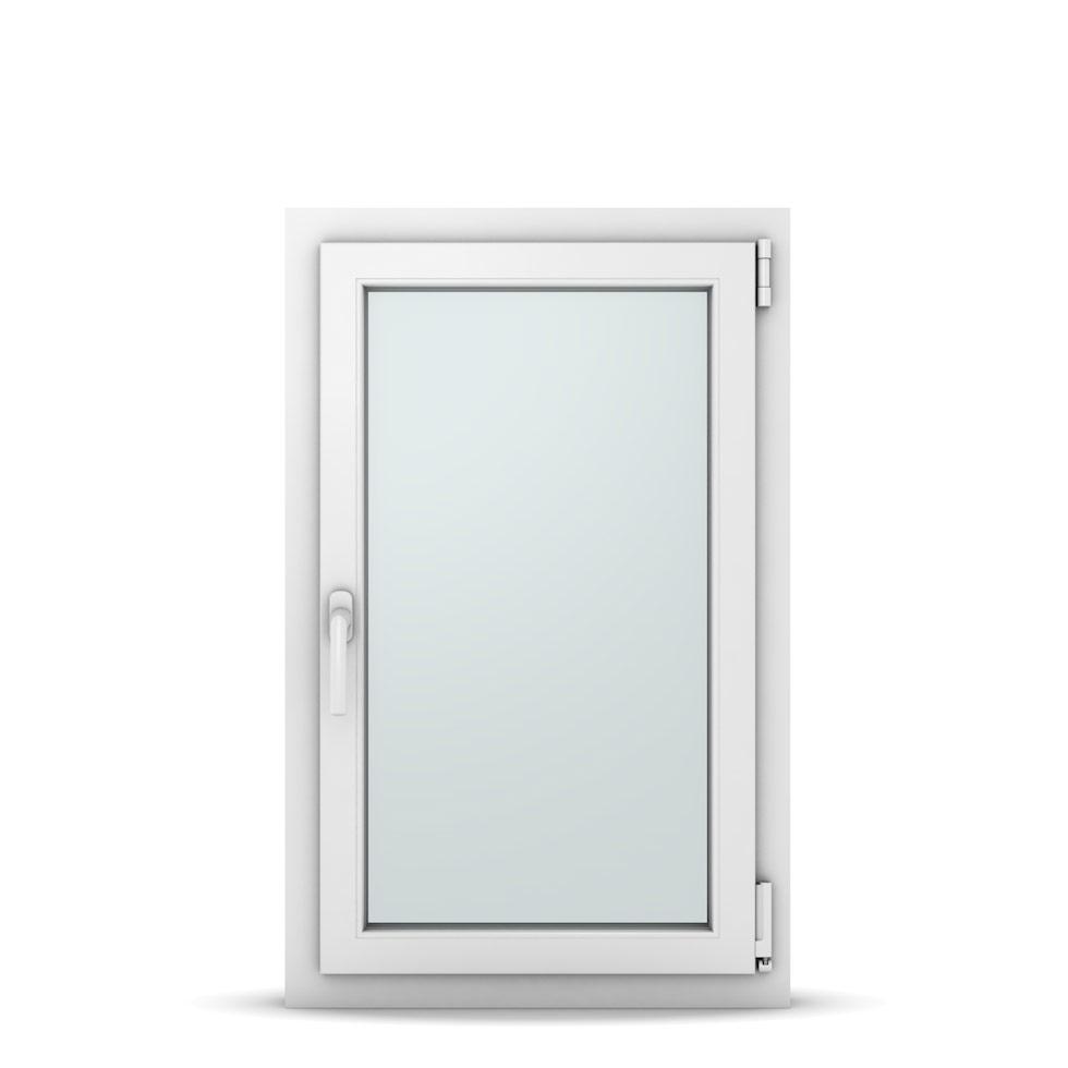 Wohnraumfenster 1-flg. Allegro Max Weiß 600x950 mm DIN Dreh-Kipp Rechts-37021